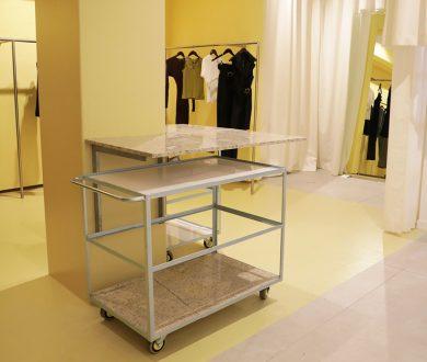 Fashion label Wynn Hamlyn's first dedicated boutique is a literal ray of sunshine