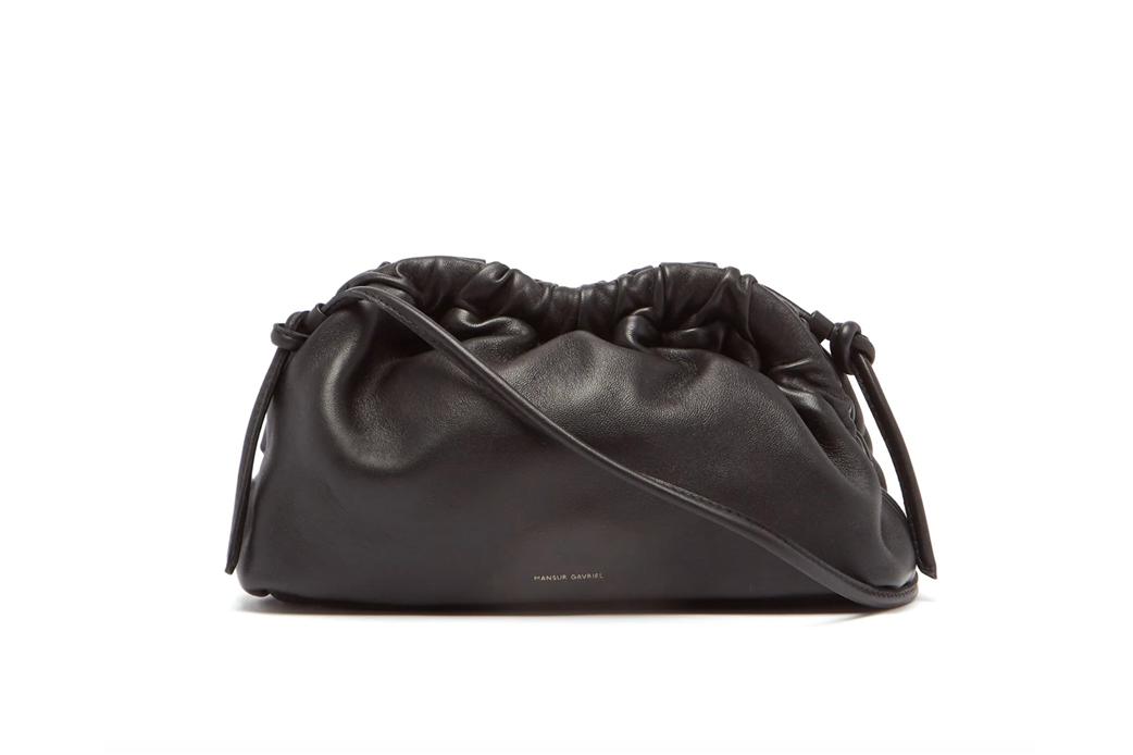 Mansur Gavriel Cloud mini leather cross-body bag