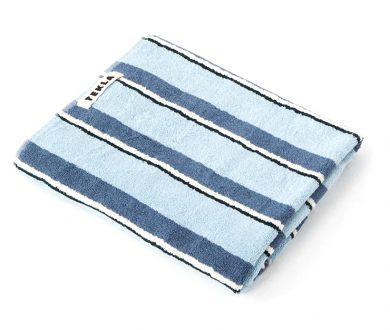 Tekla Organic Cotton Towel in Seventies Blue