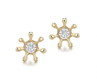 Jessica McCormack x Haas Brother's Stud Earrings