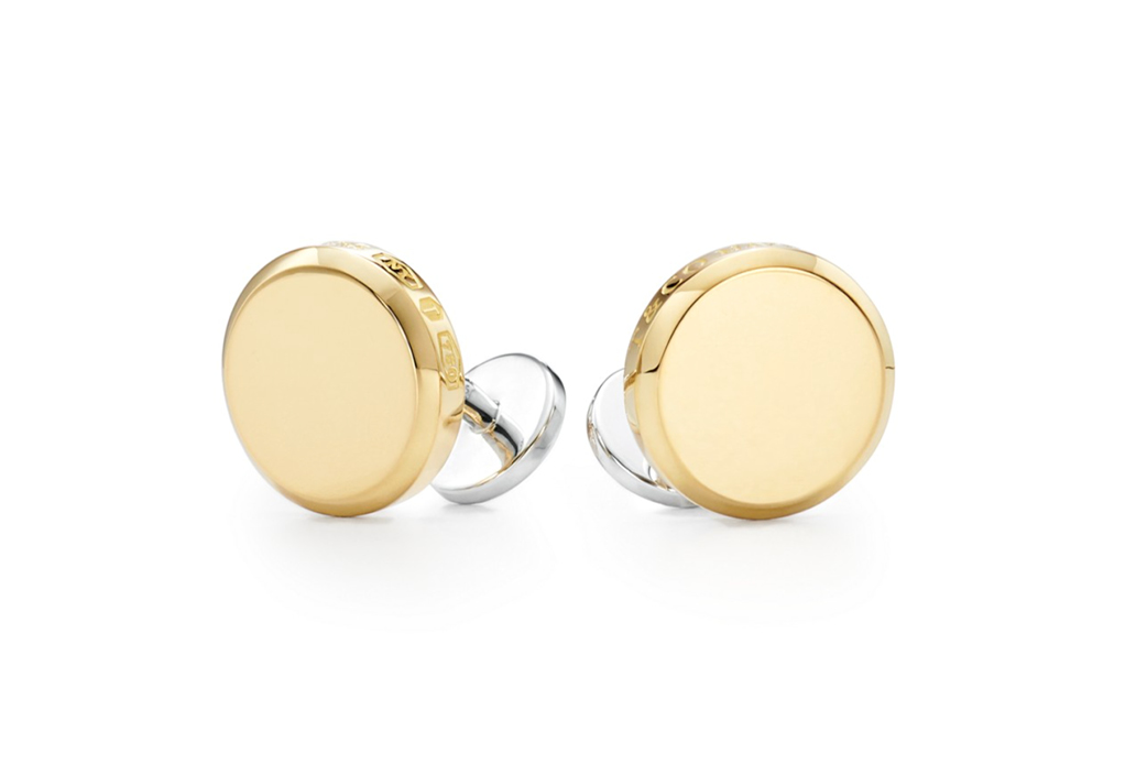 Tiffany 1837 Makers Round Cuff Links