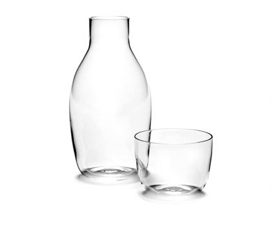 Carafe with Glass by Vincent Van Duysen for Serax