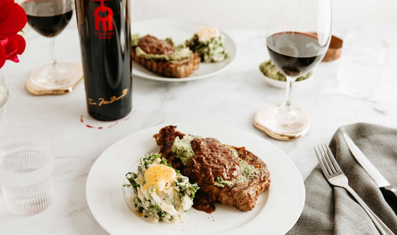 Acclaimed chef Ben Shewry shares his deliciously sophisticated sirloin steak recipe