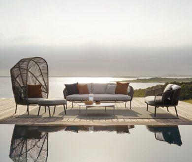 These luxurious new outdoor furniture pieces are going straight to the top of our wishlist