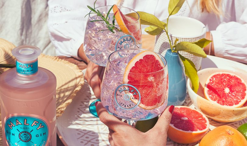 This Gin Rosa Malfy Gintonica cocktail may just be the sip of the summer