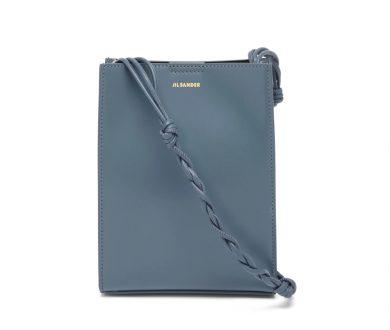 Jil Sander Tangle small braided-strap leather shoulder bag