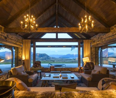 Embrace eco-luxury at its finest with a stay at this exquisite high-country homestead