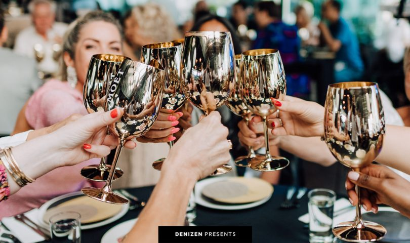 All the highlights from Moët & Chandon's fabulous Pop & Bop event at Ostro