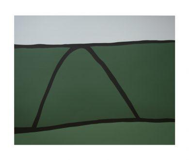 North Otago Landscape by Colin McCahon (1968)