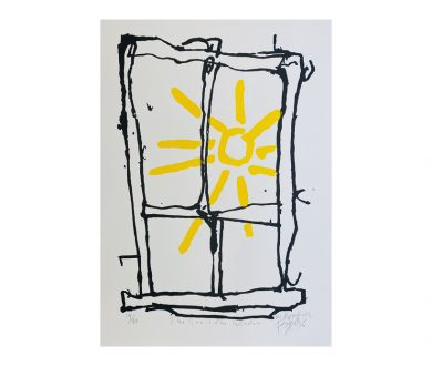 The Sun is in the Window by Dick Frizzell & Martin Poppelwell (2020)