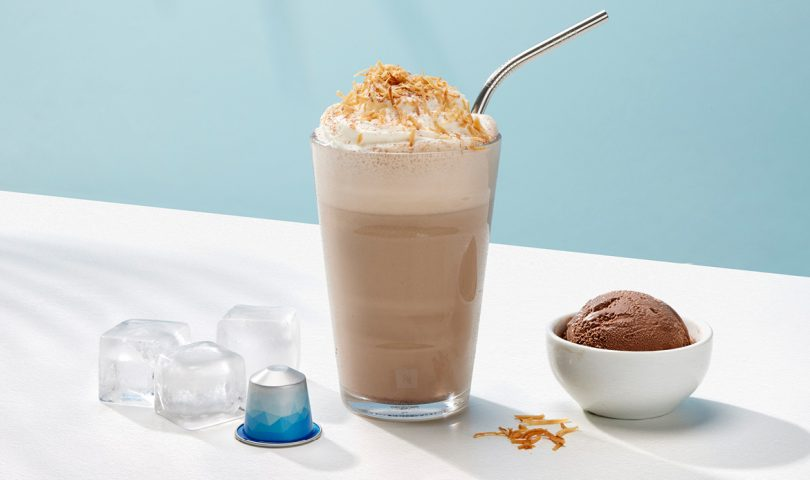 Upgrade your iced coffee with this utterly delicious and totally decadent frappé recipe