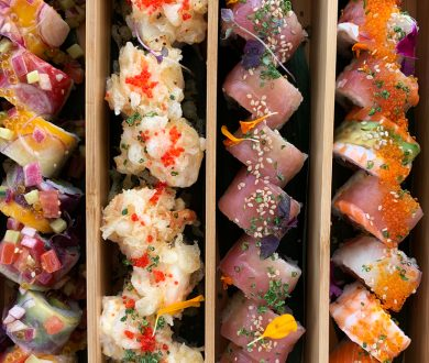 Heading out on the water? This seriously delicious catering service is bringing Azabu (and more) on board