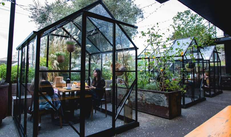 Fancy dessert in your own glasshouse? This swoon-worthy Valentine's Day experience is not be missed