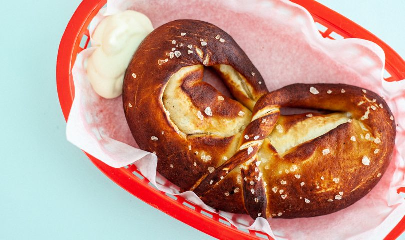 Parade is the new eatery serving up indulgent Chicago-style stuffed pretzels in Ponsonby