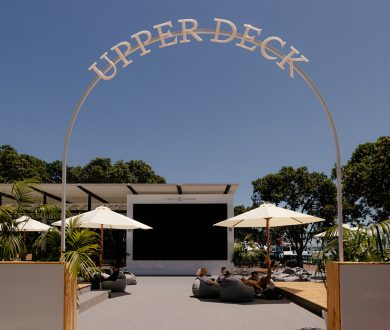 Viaduct Harbour's family-friendly waterfront viewing deck is the place to be this weekend