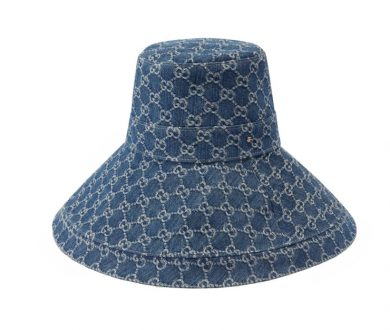 A hat with a brim