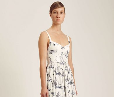 Wondering what to wear on the water? Dress to impress in this new Emilia Wickstead piece
