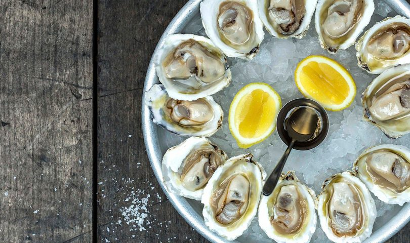 Win: Ostro is celebrating Bluffie season with by-the-dozen deliveries of oysters and Champagne