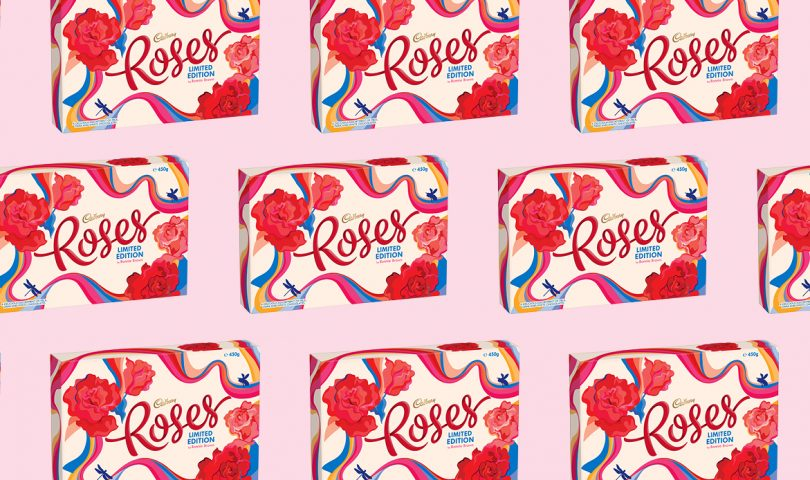Meet the Kiwi illustrator tasked with reimagining the classic Cadbury Roses box for Mother's Day