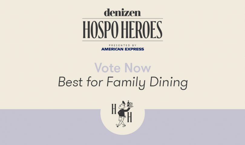 Vote now: Give thanks to the city's most welcoming eateries by voting best for family dining