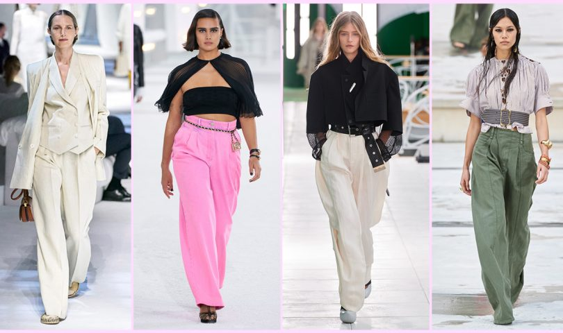 From form-fitting knits to wide-leg pants, these are the five fashion trends we're buying into this autumn