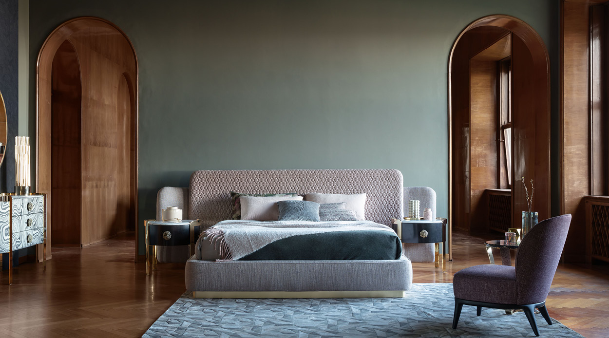 Sheila bed by Opera Contemporary