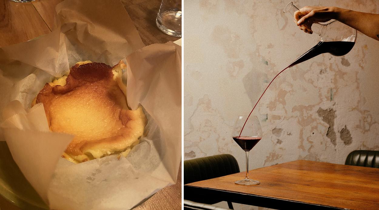 Candela's Burnt Basque Cheesecake.