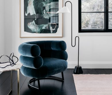 Add a luxurious, tactile touch to the home with these velvet furniture pieces