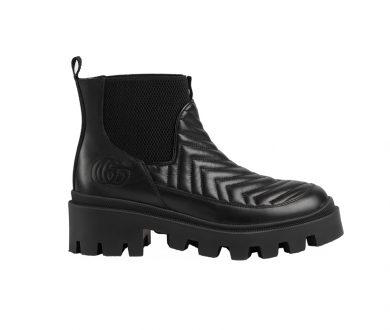 Gucci Matelassé Chelsea boot