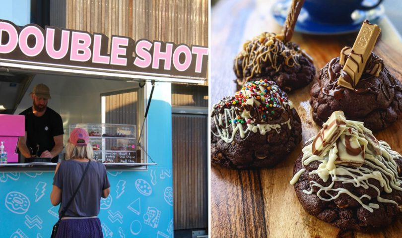 Double Shot is the fun new food truck serving great coffee and decadent treats
