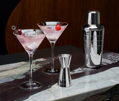 Love entertaining at home? These sleek new pieces are essential for your bar cart