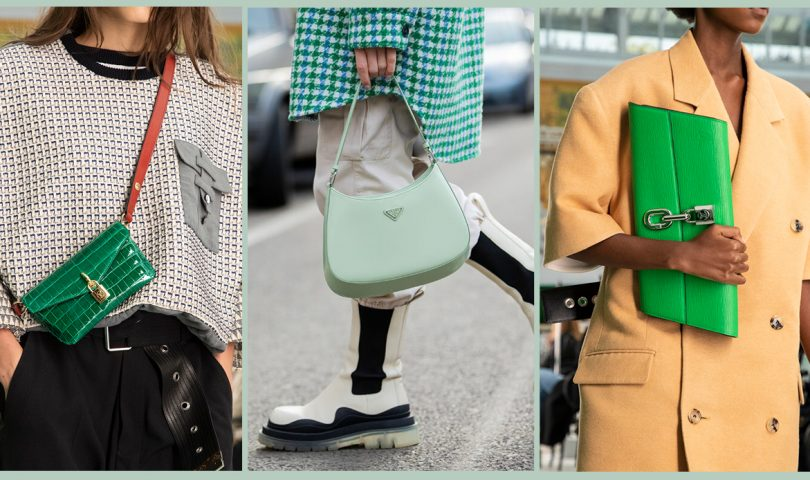 Meet the attention-grabbing bags that will leave everyone else green with envy
