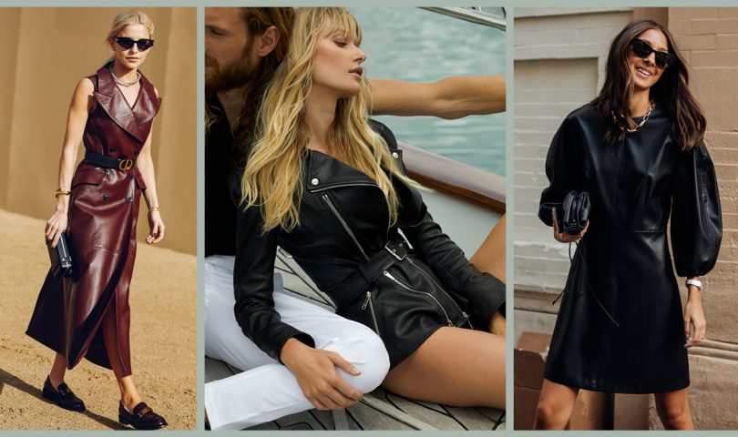 Leather weather is here, and these are the sleek new pieces to add to your wardrobe