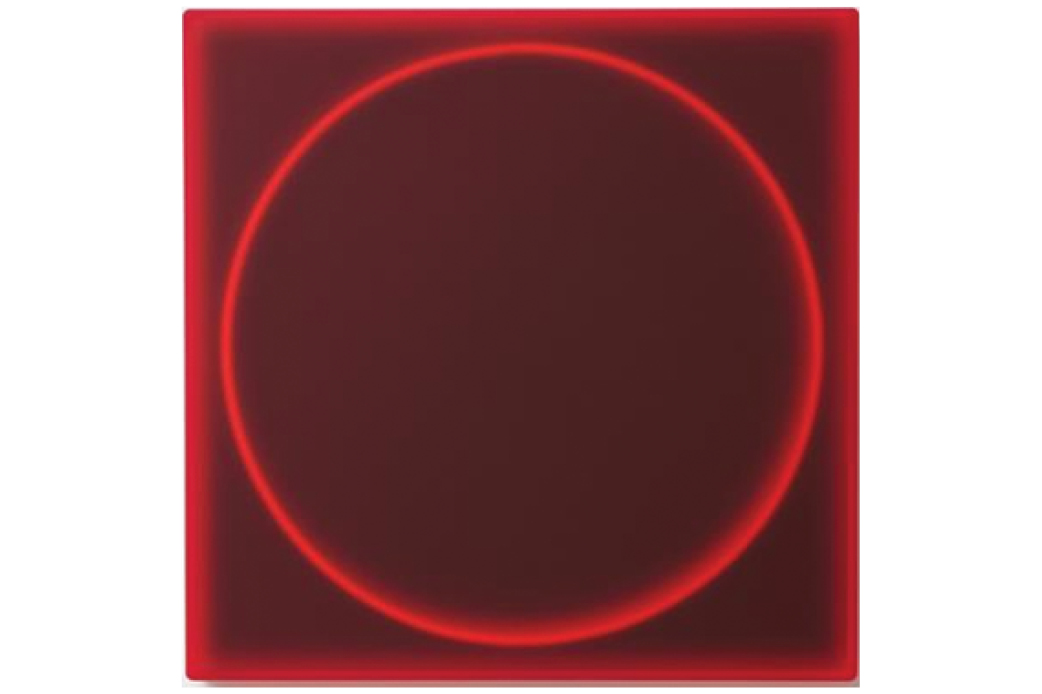 Circle in Red by Karyn Taylor
