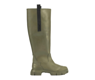 Ganni Recycled Rubber Country boots