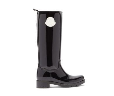 Moncler Ginger rubber Wellington boots