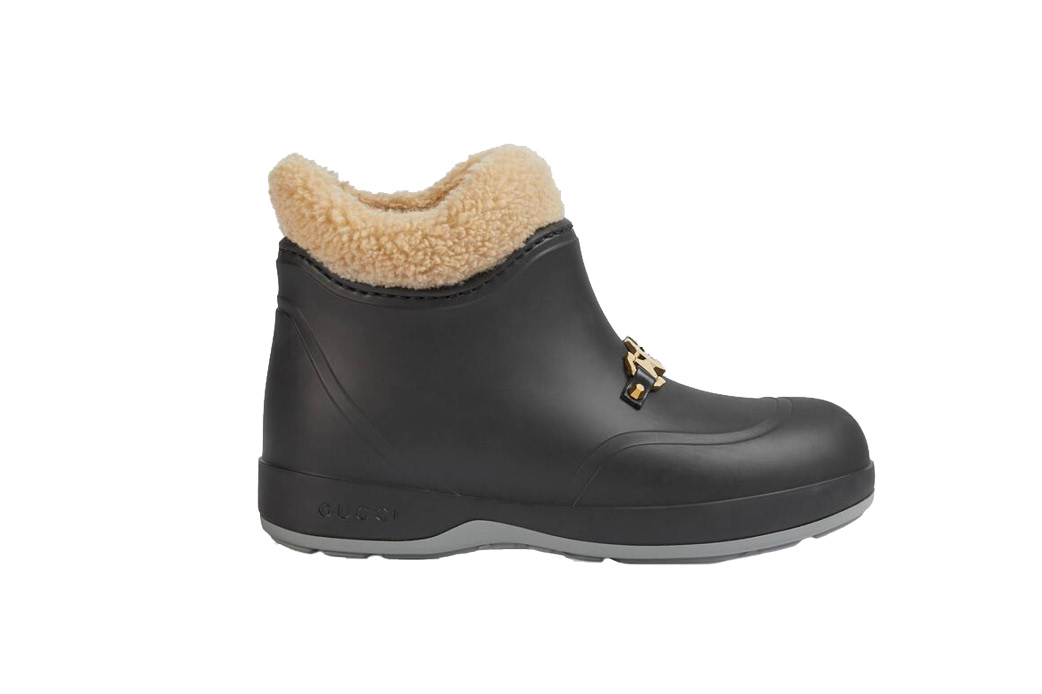 Gucci ankle boots with horsebit