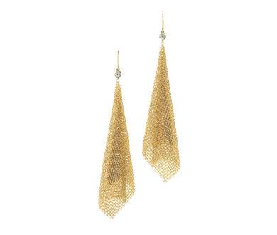 Elsa Peretti mesh earrings
