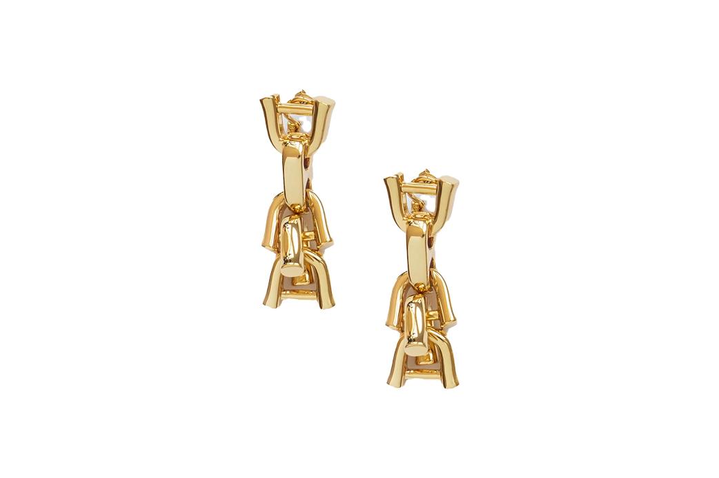 Rylan link statement earrings