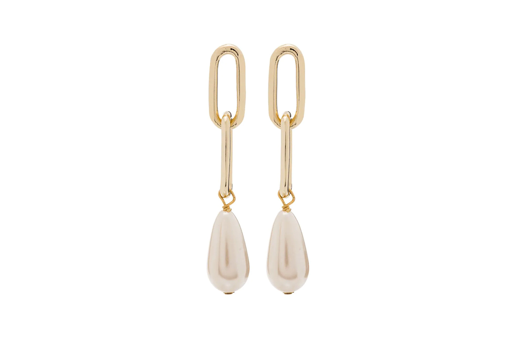 Rosantica Promessa pearl drop earrings