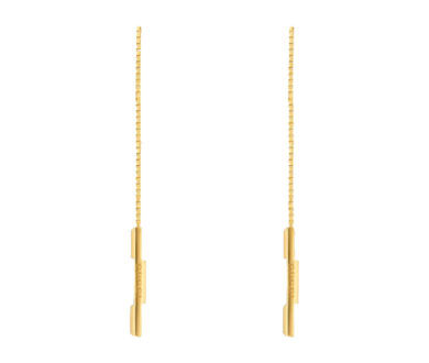 Gucci Link to Love chain earrings