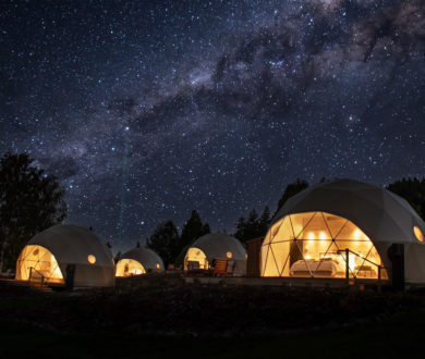 Taking your next stargazing trip to a luxurious new level, these incredible domes are a New Zealand first