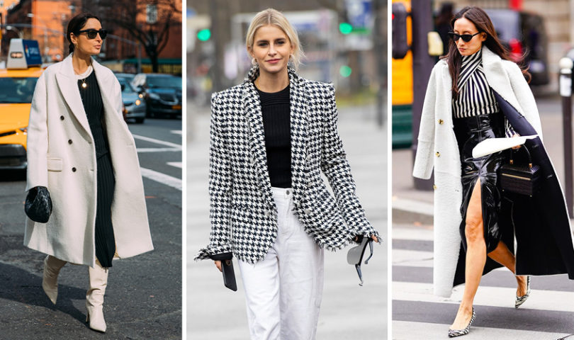 Embrace a monochromatic moment with these black and white wardrobe additions