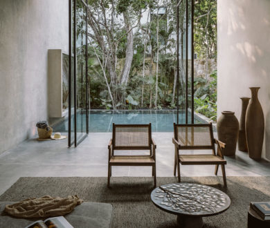 This exquisitely peaceful private villa expertly balances opulence with openness