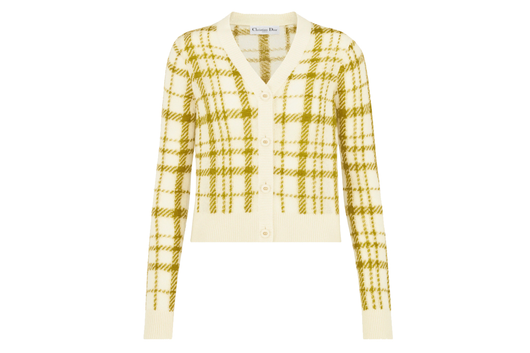 Dior buttoned cardigan