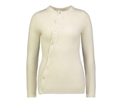 Brigette knitted asymmetric cardigan
