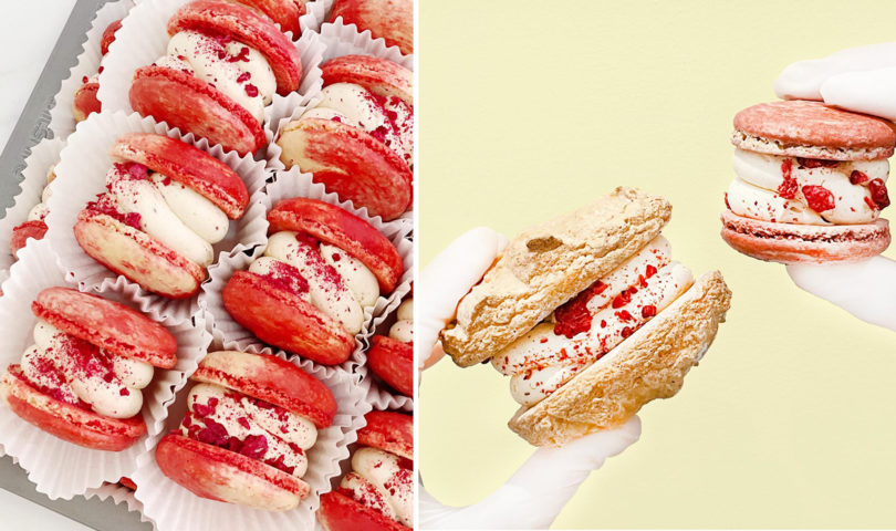 Ever tried fatcarons? Meet the sweet shop serving the city's first supersized macarons