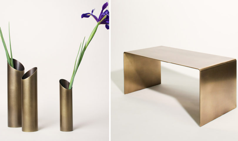 From sculptural vases to memorable mirrors, these new pieces from Powersurge will add a gleaming edge to any space