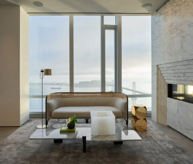 This one-of-a-kind penthouse is an unparalleled example of opulent elegance