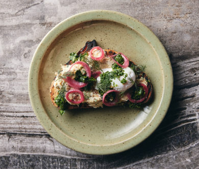 Create a splendid brunch for your bubble with Amano's irresistible smoked fish pâté on toast recipe